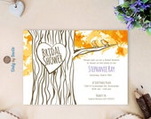Tree bridal shower invita...