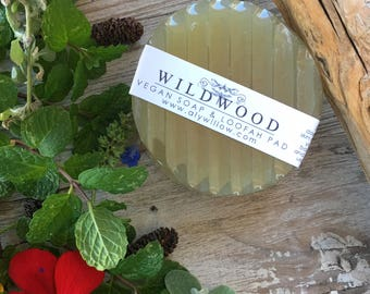 WILDWOOD botanical moisturizers & soaps for clear skin || Formula of 9 Therapeutic Plants || Fresh Lemongrass scent || Sensitive Skin