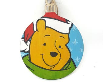 Hand-painted Christmas Bauble - Winnie
