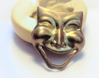 Comedy Face  flexible silicone mold