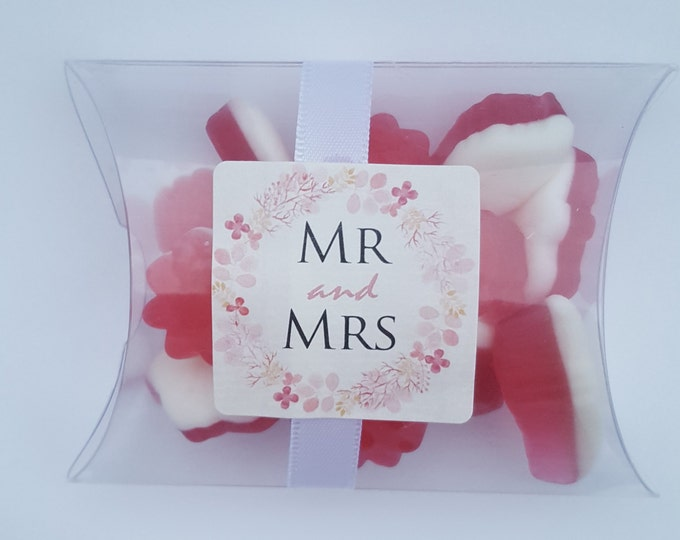 Wedding baby shower kids party candy pillow box favours