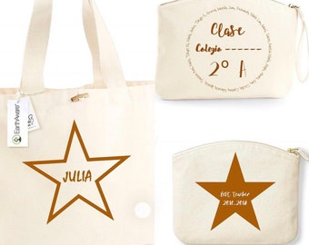 Organic cotton bags in different sizes
