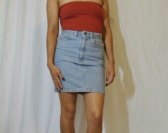 American Apparel Denim Skirt (small)