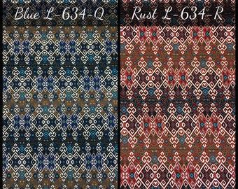 Polyester Spandex 2 Ways Stretch Geometric Design Fabric