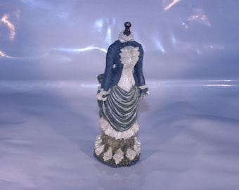 Dress Mannequin Figurine- Blue