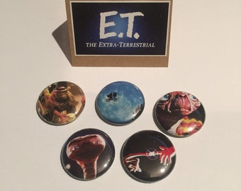 E.T. The Extra-Terrestrial Pin Pack