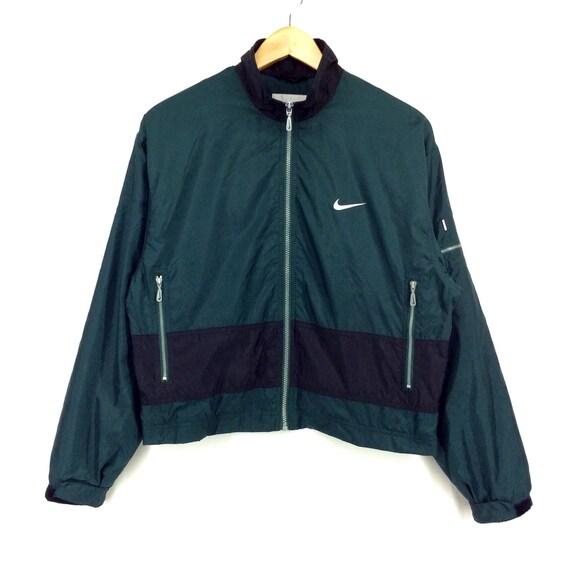 Vintage Nike Windbreaker Jacket Big Logo Nike ITALIA Big Logo Spellout Rap Tees Hip Hop Swag UuQENcLg