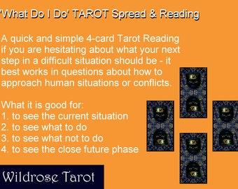 The 'What Do I Do' TAROT Reading