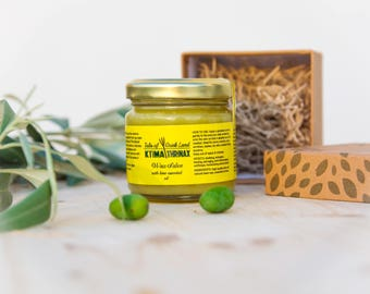 Wax salve essential lime oil, organic body salve, healing salve, medicinal salve, soothing salve, dry skin, rashes, eczema, first aid kit
