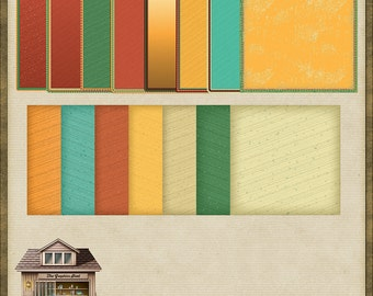 15 Mexican Style Mats PNG *Instant Download*
