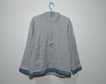 TITICACA TELA We Are Origin Vintage Clothing Gray Color Hoodie Sweatshirt