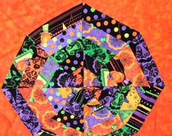 Halloween Spiderweb Handmade Quilt