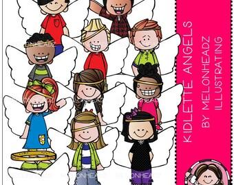 Kidlette Angels clip art - COMBO PACK