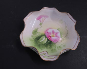 Coronet Hand Painted Porcelain Limoges France Signed Albert