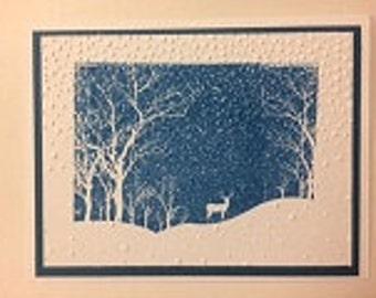Winter Snow Card (12)