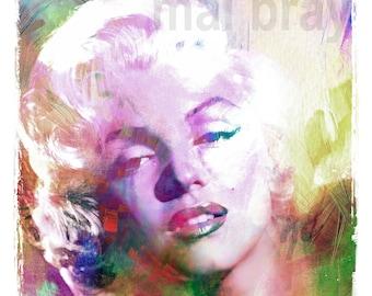 Marilyn Monroe, Norma Jeane,  print, poster.