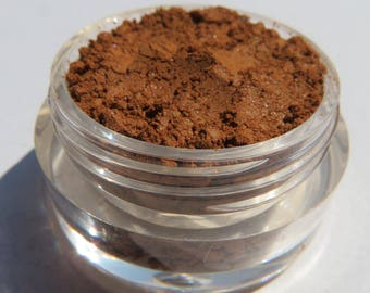 Brown Brick Red Orange Mineral Eyeshadow | Loose Pigments | Cruelty-free | Shimmer | Vegan Mineral Eye Shadow - Autumn