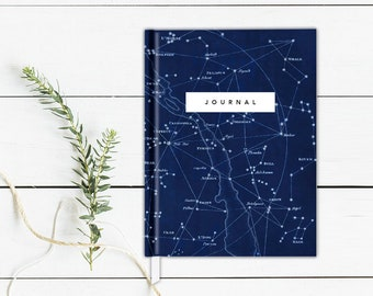 Constellation Journal Astronomy Notebook Writing Journal Hardcover Star Chart Journal Constellations Sketchbook Stars Hardcover Sketchbook