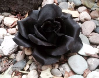 Black Rose Pinup, Bridal, hair clip
