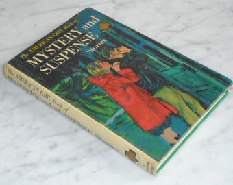 Vintage Hardcover Random House American Girl Mystery & Suspense Stories 1964 Girls Scouts