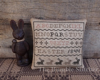 Easter Sampler...Primitive PAPER Cross Stitch Pattern By The Humble Stitcher