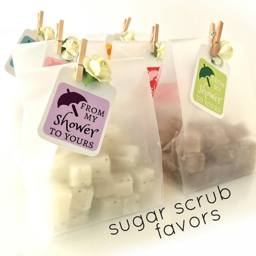 Baby Shower Favors Mini Sugar Scrubs 3.00 each Unique