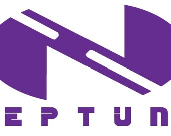 Hyperdimension Neptunia logo decal
