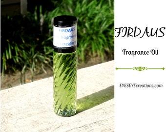 FIRDAUS Fragrance Body Oil 1/3, 1/2, or 1 ounce (oz)