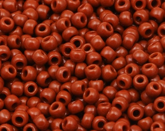 11/0 TOHO beads * Opaque terra cotta *-TR-11-46L-Beads, 2.2 mm-10 g