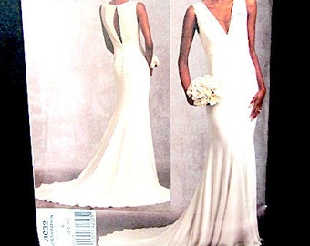 Pattern Vogue Bridal, uncut wedding  pattern, Vogue wedding pattern, wedding pattern, bridal original dress, designer dress pattern, bridal