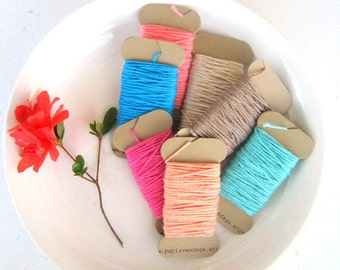 Bakers Twine, Solid Bakers Twine, Tag Twine, 10yds Twine,Wedding Bakers Twine, Pick your Color Bakers Twine, Gift Wrap, Tags & Twine, Twine