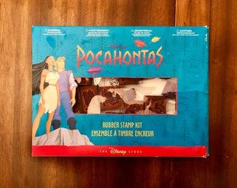 Walt Disney Pocahontas Stamp Set