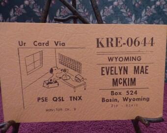 Carte postale de Radio Vintage CB