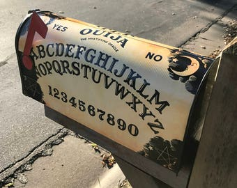 Ouija Board, Mailbox Wrap, Mailbox Cover