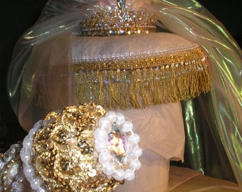 Bride of Christ Crown &Pillow with Sceptre Combo