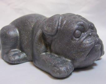 Bulldog soft silicone desk toy fidget toy squishy stress ball