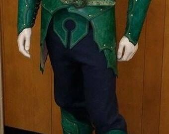 Leather Armor Elven Armor Set