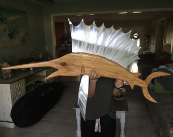 Hand Carved Marlin