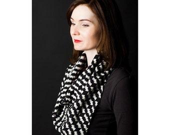 Bats on black square wool scarf  Fashion accessories Bat pattern