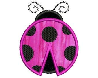 Applique Ladybug Lady Bug Machine Embroidery Designs 4x4 & 5x7 Instant Download Sale