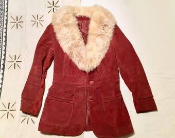 70s Penny Lane Sherpa Jacket