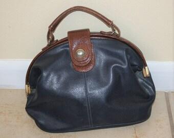 1980s Capezio Handheld Drs Bag Style Purse