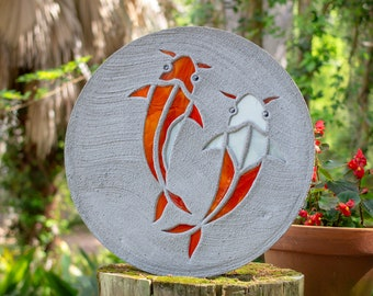 Koi Fish Goldfish Stepping Stone #763