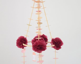 pajaki chandelier baby mobile Easter decoration