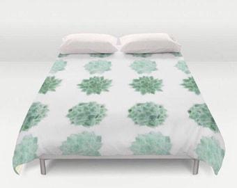 palmier feuilles housse de couette couverture de lit palm. Black Bedroom Furniture Sets. Home Design Ideas
