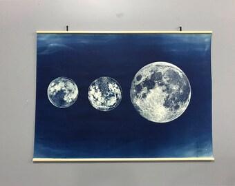 Three Moon Lunar Chart