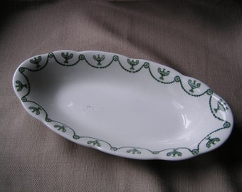 O.P. Co. Oval Dish circa 1914