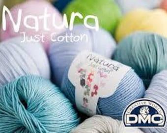 Natura Just Cotton Medium Yarn 50g