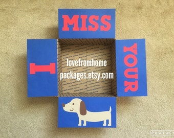 I Miss Your Wiener Care Package Flaps
