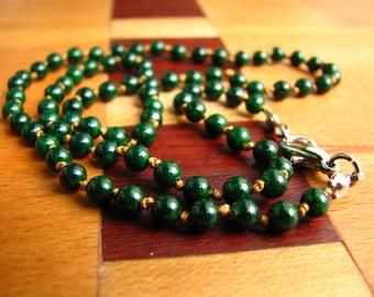 3740 -Necklace, Small Cornelian